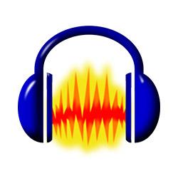 برنامج تسجيل وتعديل كل أنواع الملفات الصوتية Audacity 2.3.0 Logo-audacity-editor-de-audio-gratuito